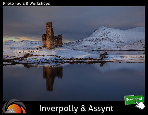 Photography tour and workshop at the Inverpolly and Assynt areas of the highlands of Scotland