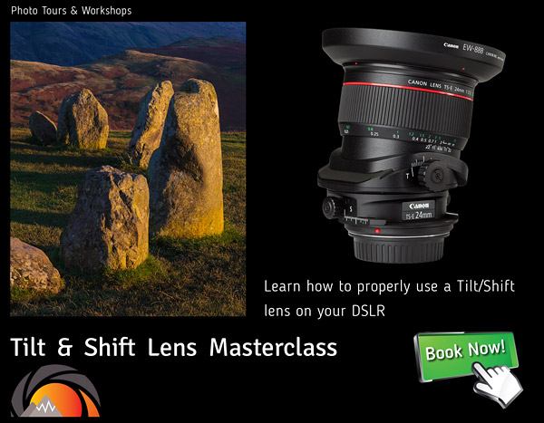 Tilt and Shift Lens photography course and workshop in the Lake District