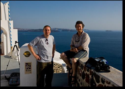Paul Harris and Dimitri Vasiliou