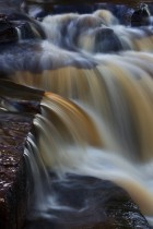 Waterfall Paterns, Wain Wath Force, Yorkshire Dales, England