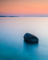 Simplicity Within Long Exposures. Mykonos Island, Greece