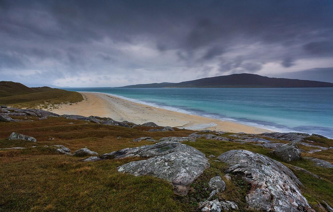 Luskentyre Beach Isle Of Harris Hebrides Scotland