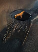 Sand Patterns And Rock Pool, Talisker Bay, Isle of Skye