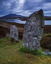 Langass Stone Circle, Isle Of Uist, Hebrides, Scotland