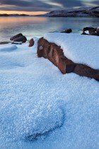 Hoar Frost At Loch Bad á Ghaill, Inverpolly, Scotland