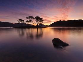 loch maree slattadale sunrise by photographer dimitri vasiliou