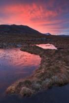 Quinag Mountains At Sunrise, Assynt, Scotland