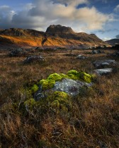 Slioch Mountain, Wester Ross, Scotland