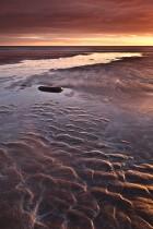 Sand Patterns On Talisker Bay, Isle Of Skye, Scotland