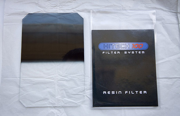 Hitech reverse neutral density graduated filter