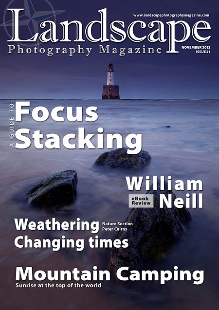 Landscape Photography Magazine Issue 21 cover