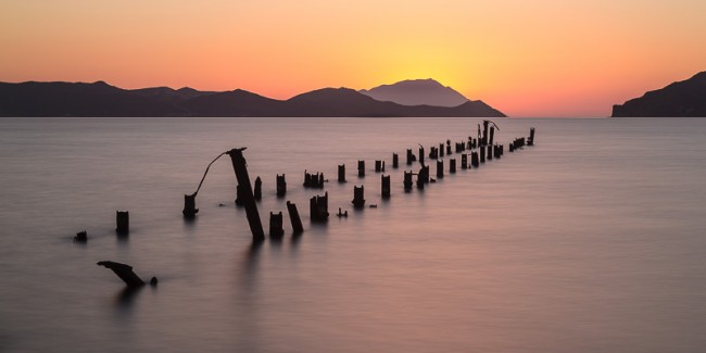 The jetty, Melos, Greece