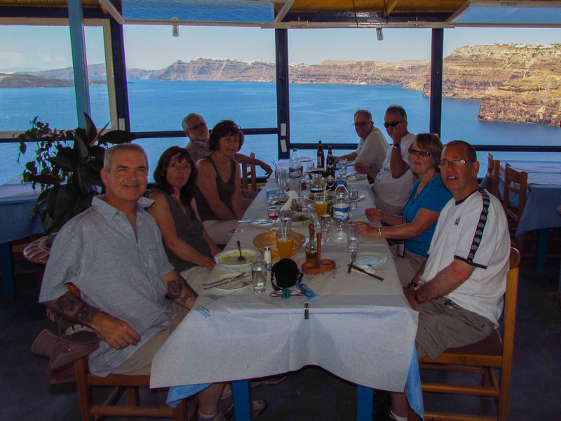 On Location, Santorini 2011 Group