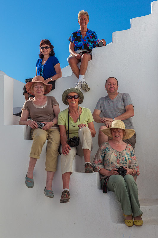 On Location, Santorini, 2012 Group