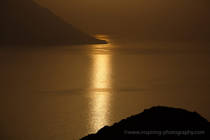 Golden-sunset-Milos-Island-Greece-©Mike-Bell