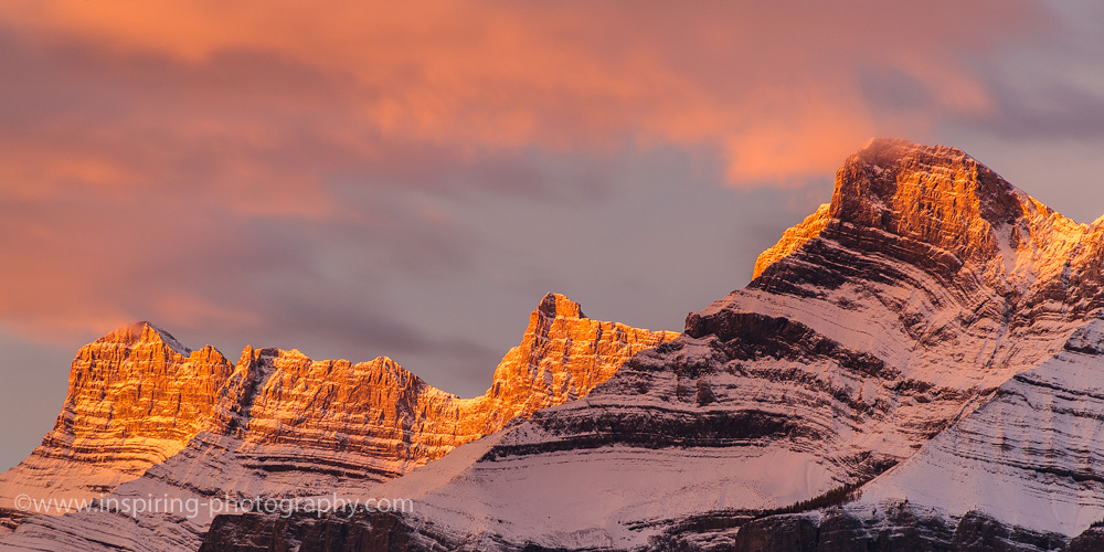 Golden-Mountain-Tops-Banff-Canadian-Rockies
