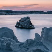 Sarakiniko-Sunset,-Milos-Island,-Greece-2182