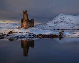 Expect the Unexpected. Ardvreck-castle-Assynt-Scotland-Expect the unexpected