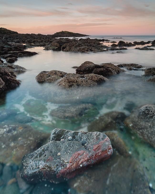 Dunure Beach Sunrise, Ayrshire, Scotland