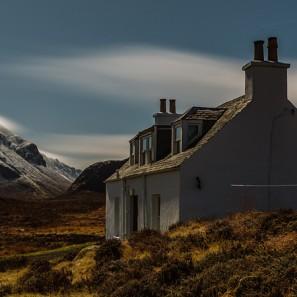 Glen Sligachan Under Moonlight, Isle of Skye, Scotland