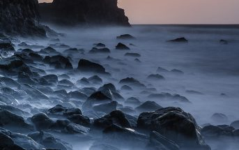 Talisker Bay Sunset, Isle of Skye, Scotland