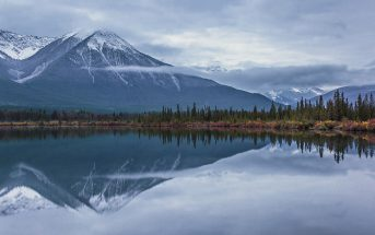 Vermilion Lake Reflections, Alberta, Canadian Rockies