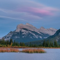 Vermilion Lake and Mount Rundle, Banff, Canada