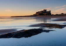 Bamburgh, Northumberland, Long Exposure photo workshop
