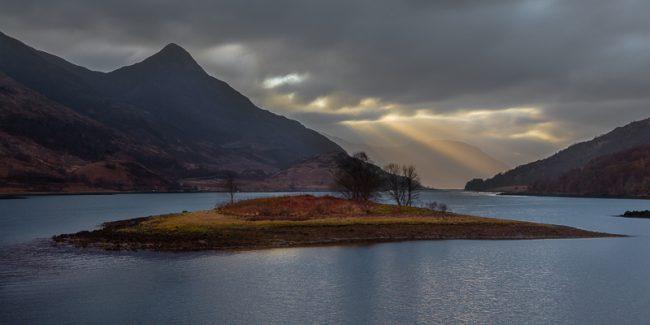 Eilean nam Ban, Glencoe, Scotland