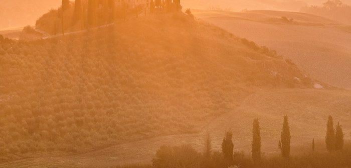 Belvedere Sunrise, Tuscany, Italy