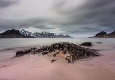 Haukland-Beach,-Lofoten-Islands,-Norway-5050009