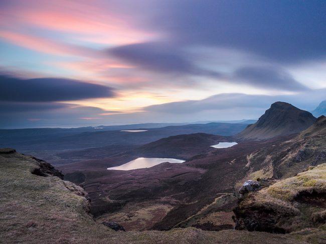 The Quiraing, Sunrise, Isle of Skye, Scotland