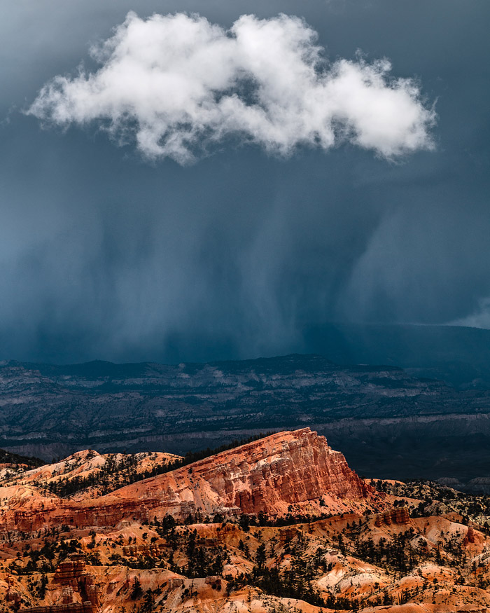 Approaching Storm at Bryce Canyon